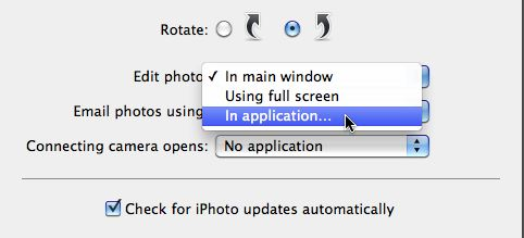 iphoto external editor preference